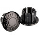 Cinelli Milano handlebar plugs black